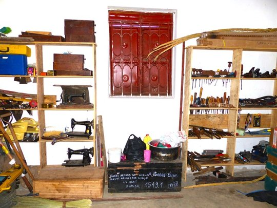 Tools on the Shelves!