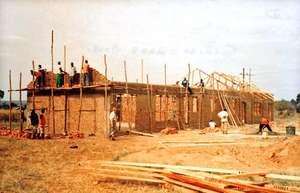Siriba VTC under construction 2008