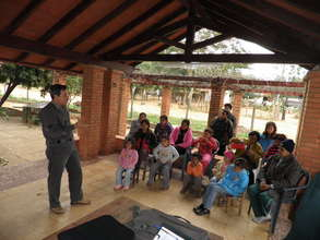 We are speaking in Guaraní