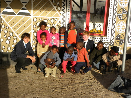 Ecovillage: Uplift 20000 squatters in South Africa