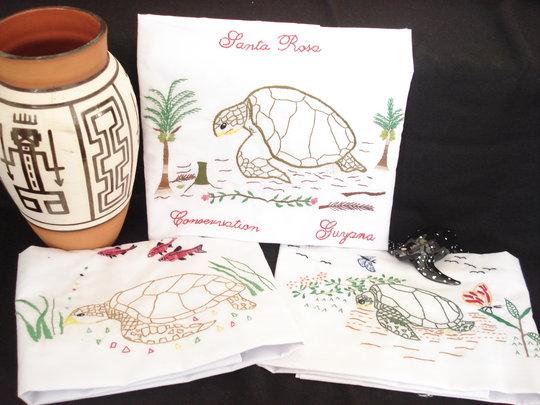 Amerindian entrepreneurs for Guyana's sea turtles
