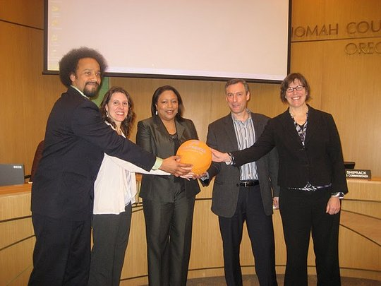 Multnomah County Board and Playworks