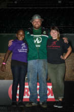 Junior Coach Essence, Timber Joey, and Coach Molly