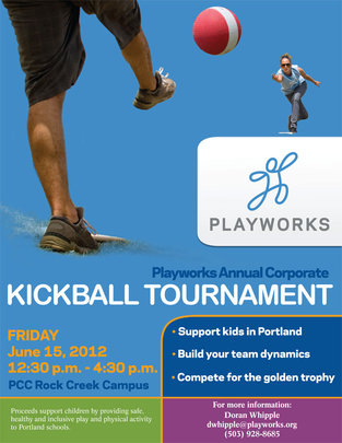 Corporate Kickball 2012