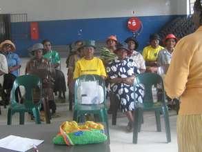 Gogo's (Granny) HIV treatment literacy training