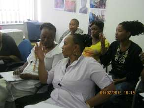 Discussing HIV/AIDS treatment