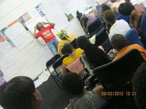 Facilitator Nelisiwe Npinya