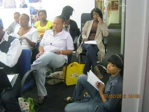 Full house for HIV treatment literacy training
