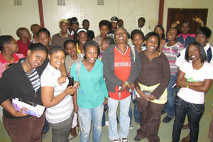 PWN Youth Group in Johannesburg