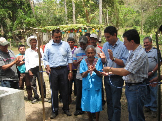 Clean Water for over 4,000 people in Honduras