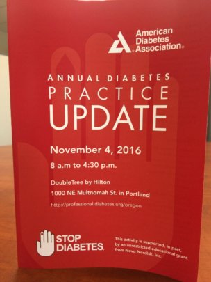 Our providers help us stop diabetes!
