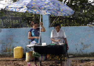 Food Stand in the Community