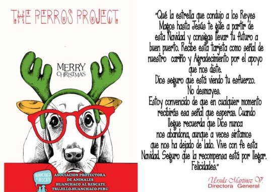 Holiday Card from our friends in Peru