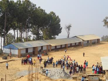 A school built by NYF
