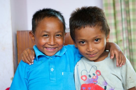 Boys at New Life Center