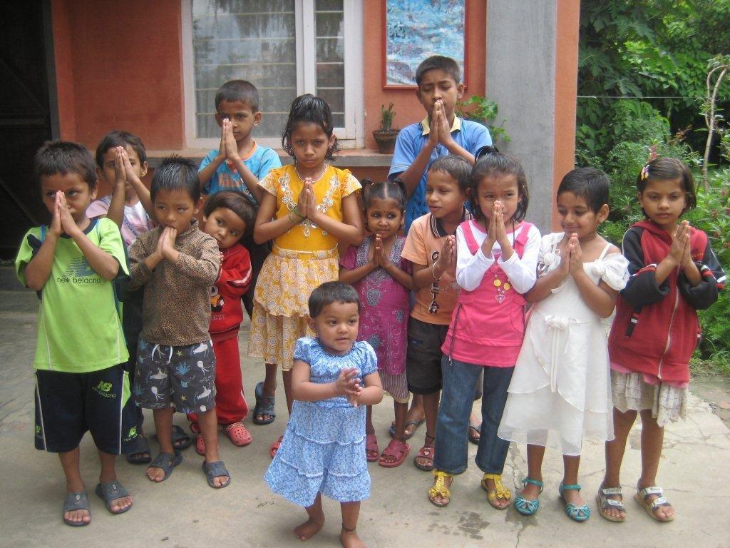 Children at New Life Center