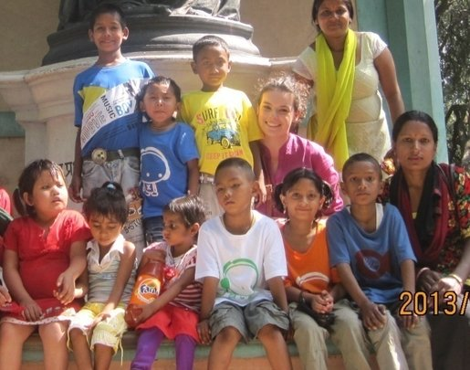 Children at the New Life Center