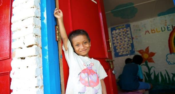 boy at New Life Center