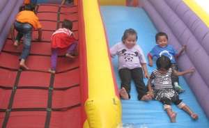 New Life Center children at play
