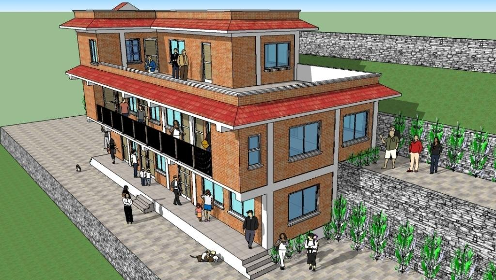 Rendering of new New Life Center