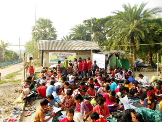 Send 2000 disabled children to schooling in India
