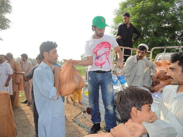 Pakistani pop singer Atif Aslam joins in