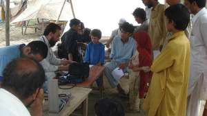 A medical camp