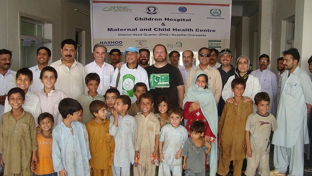 Opening of the Mother-Child Unit in Charsadda