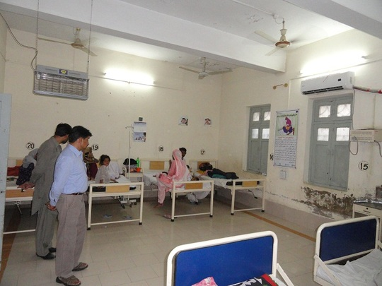 SH-CDRS Pediatric Ward June 2012