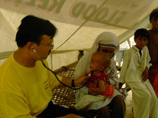 Flood Relief Medical Camp 2010