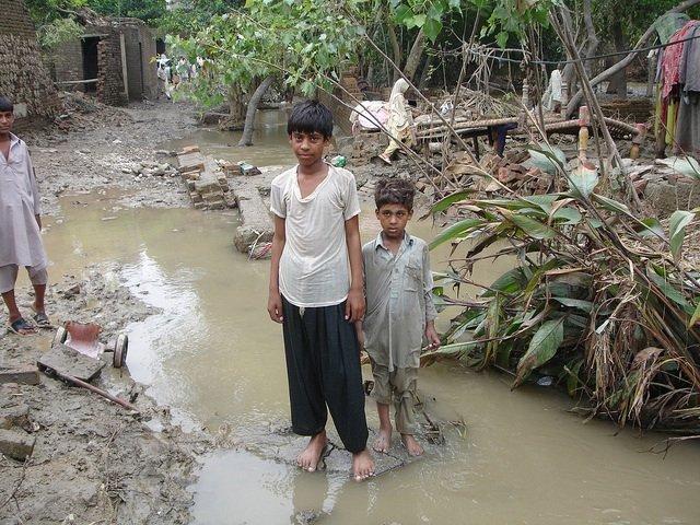 Survivors in Charsadda