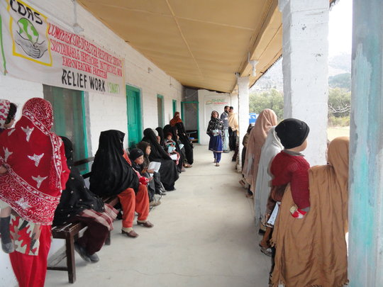 Patient waiting area -Swat