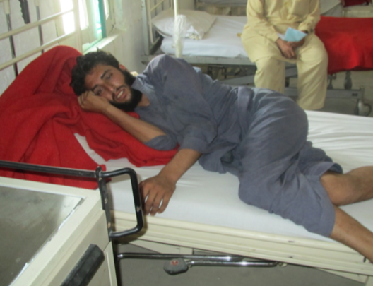 Young patient treated at the  Swat facility