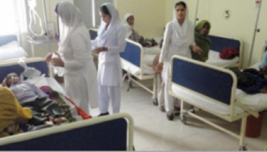 Shikarpur Pediatric Ward