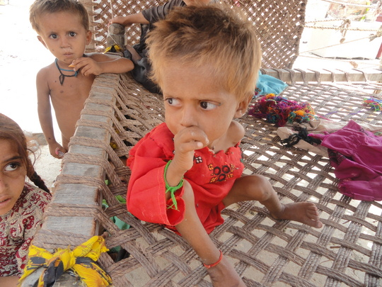 Hunger through the eyes of a child