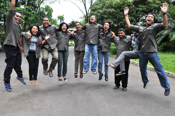 Indonesian Fellows Celebrating their Success