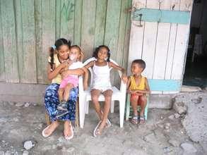 Family in Batey Libertad