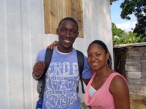 Fede and Mayra