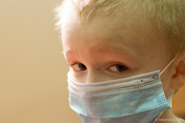 Young cancer patient in St. Petersburg, Russia