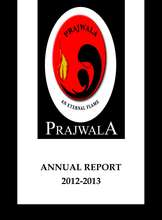 Prajwala Annual Report 2012-13 (PDF)