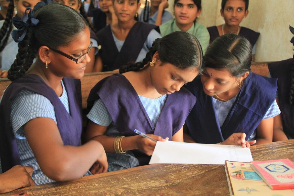 Signing up a Prajwala Volunteer Group