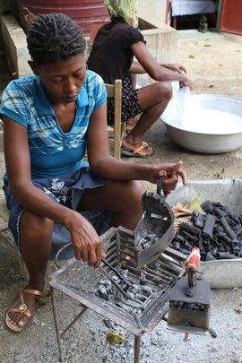Coal irons