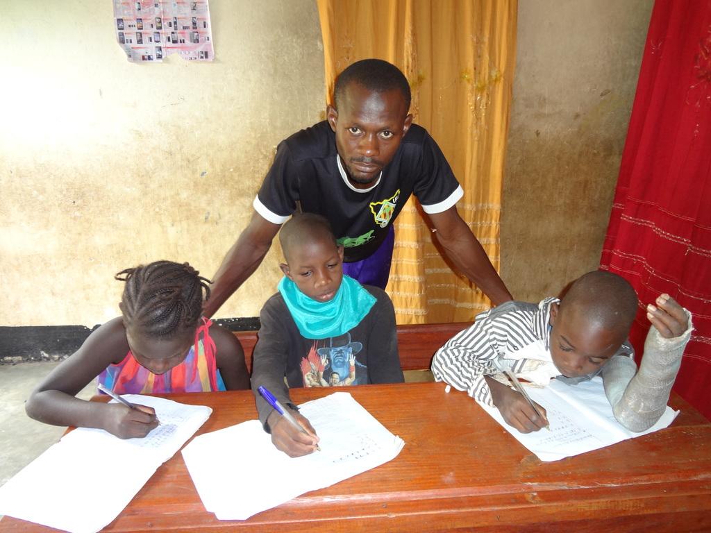 children homework session