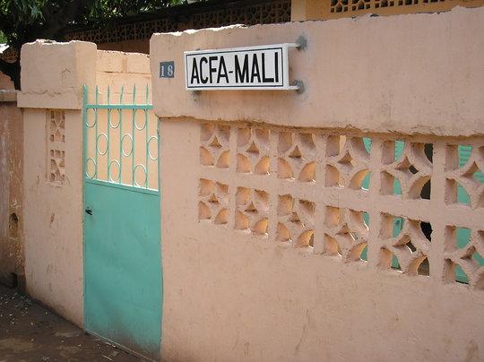 The Entrance to ACFA-Mali