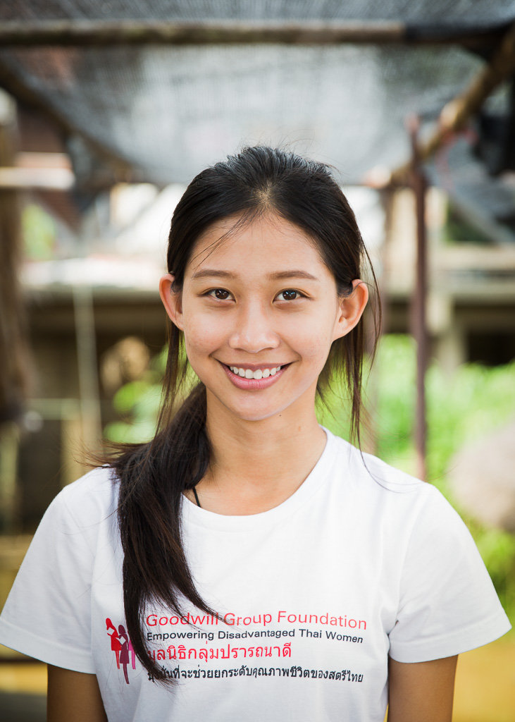 A former Ubon student who came back to volunteer