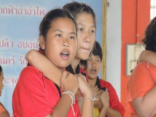 Self-defense at Pomprajullajomklao School