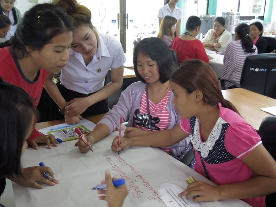Preparing for Success at a college in Ubon