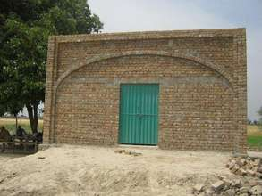 newly constructed mosque