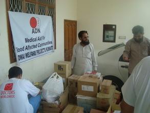 medicine delivered to DWW