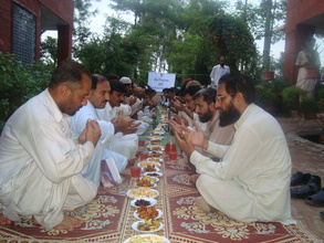 iftar for affected communities